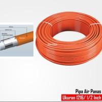 Pipa Air Panas Untuk Ariston,Modena,Rinnai Ukuran 1/2 Model Rifeng