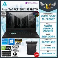 Asus TUF FX516PC I535B6TO i5 11300 8GB 512ssd RTX3050 4GB W10+OHS 15.6
