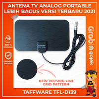 Antena TV Digital Taffware TFL D139 High Gain 25-dB Indoor / Outdoor