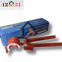 Alat tekuk Pipa besi Manual pipe Bender 3.6.8.mm tekuk/ bengkok besi