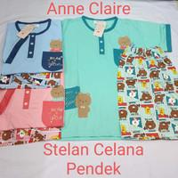 Babydoll HP Tangan pendek celana pendek Baby doll Anne Claire all size