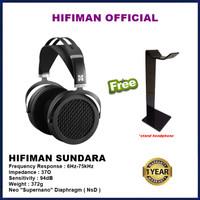 Hifiman Sundara Over-ear Full Size Planar Magnetic Headphones Headset
