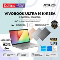 ASUS VIVOBOOK 14 K413EA - i3 1115G4 8GB SSD 512GB 14 FHD IPS W10 OHS