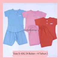 3 setelan baju anak bayi perempuan girl 3 6 12 bulan 1 2 3 4 tahun