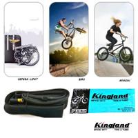 Ban Dalam KINGLAND 20 x 1.75 AV Ban Dalem Sepeda Lipat, BMX, Minion