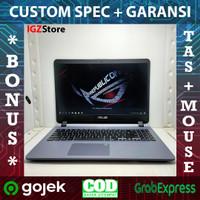 Laptop WFH Office Asus A507 N4000 4/1tb Siap Zoom n Meet Kuliah DKK