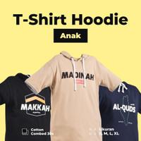 Baju Kaos Hoodie Ngaji Anak Laki Laki Lengan Pendek Branded Ammar Kids