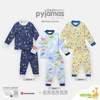 VELVET JUNIOR Piyama Anak Laki-laki - Baju Tidur Anak 4- 5 Tahun
