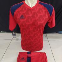 [ TERBARU ] setelan baju olahraga sepak bola ADIDAS futsal DEWASA