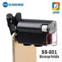 MIKROSKOP MINI SUNSHINE SS-801 MICROSCOPE PORTABLE POCKET MICROSCOPE