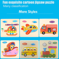 1ST STEP PUZZLE / MAINAN PUZZLE KAYU ANAK / JIGSAW PUZZLE (SLIDE 2)