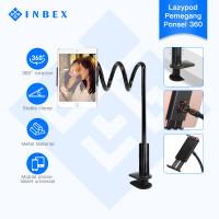 INBEX Lazypod Bracket/phone tablet Braket malas/360°Flexible Rotation