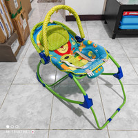 Pliko Portable Baby Swinger Rocking Bouncer Kursi Duduk Ayunan Bayi