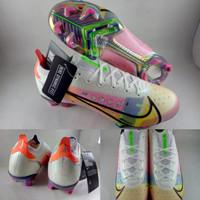 Sepatu Bola Nike Mercurial Vapor Dragonfly 14 Elite FG White Pink