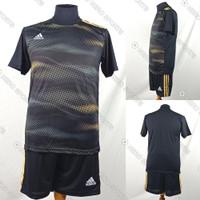 Setelan Baju/Kaos Jersey Sepak Bola/Futsal Dri-Fit Print Adidas AD158