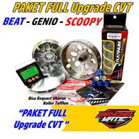 Paket cvt beat fi esp Upgrade CVT Beat Scoopy Pulley bubut honda beat