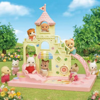 Boneka mainan miniatur baby castle playground sylvanian families