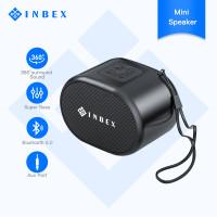 INBEX Mini Speaker Bluetooth Speaker FM Phone Answer AUX Micro SD Card