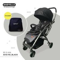 Stroller BabyElle Avio RS 939 Reversible/ Kereta Dorong Bayi Baby Elle
