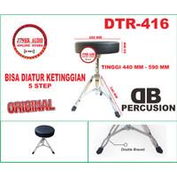 Bangku Drum Murah Kursi Drum Db Percusion Drum Throne Original