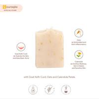AQILA - MILKY MARIGOLD Soap Bar (Sabun Natural Kefir Susu & Calendula)