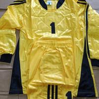 Baju Kiper Futsal/Sepak Bola Anak Remaja World Cup WC-01 Yellow/Black