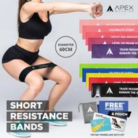 Short Resistance Band / Loop Band Apex Warrior|100% Premium Latex