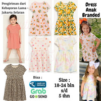 OLD NAVY Baju Dress Anak Perempuan Branded Original - Dress Bayi 2