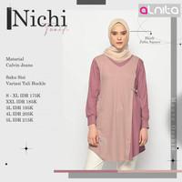 Alnita Nichi Baju Atasan Tunik Blouse Wanita