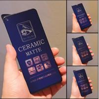 TEMPERED GLASS CERAMIC ANTIBLUE MATTE IPHONE 6+ 7 7+ X XR XS XSMAX 11