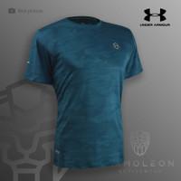 Dry Fit Under Armour Jersey Kaos Baju Running Sport Olahraga Futsal - XL