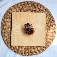 Cutting Board / Talenan Kayu Tali Kotak / Talenan Kotak / Talenan Unik