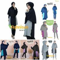 Premium Series - Baju renang & diving wanita muslimah syari