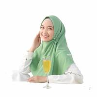 Jilbab instan segiempat naisha bahan diamond crepe hijab murah bagus