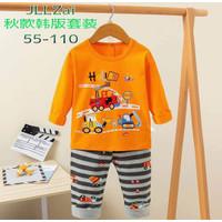 Stelan baju tidur anak laki - laki import umur 2 - 9 thn - 2-3 tahun