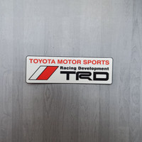 stiker sticker toyota TRD sport jdm decal mobil motor bukan emblem