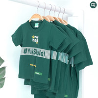 Baju Kaos Anak Laki Laki 1 - 15 Tahun Ammar Kids NT01 Yuk Shalat - Yuk Shalat, XS
