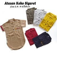 Baju Koko Qurta Anak / Kemeja Koko Anak / Hem Anak / TERMURAH