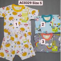 Velvet Setelan Baju Anak Bayi Oblong Pendek Celana Pendek SML XL XXL