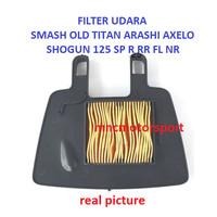 FILTER UDARA SMASH SHOGUN 125 R SP FL NR RR AXELO SMASH TITAN