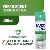 Wiz24 Disinfectant Spray Aerosol Fresh Scent 300ml