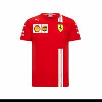 tshirt baju kaos Puma Ferrari Scuderia F1 Team Big size 3XL & 4XL