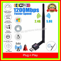 USB Dongle Wireless WIFI Receiver USB Adapter 802.11N 150Mbps Antenna