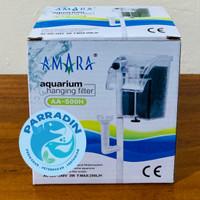 AMARA AA 500H Aquarium Aquascape Hanging FIlter / Filter Gantung
