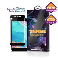 Tempered Glass Xiaomi Redmi Note 5 A Full Cover Black - Glass Pro