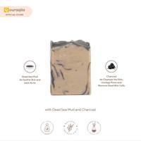 AQILA - DEAD SEA MUD SOAP BAR (Sabun Natural Lumpur Laut Mati)