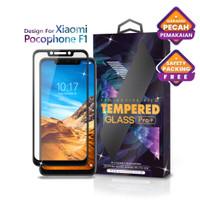 Tempered Glass Xiaomi Pocophone F1 Full Cover Black -Glass Pro