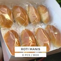 ROTI MANIS ISI BASO SAPI 8 pcs / box enak tanpa pengawet