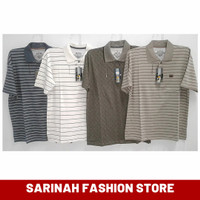 Kaos Kerah Pria Polo Shirt Katun DeeYos Ukuran Besar M,L,XL
