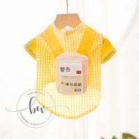 Baju Kucing Anjing - Kindergarten Bag Dog Cat Shirt Kaos Anjing Kucing